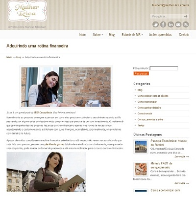 Blog Mulher Rica