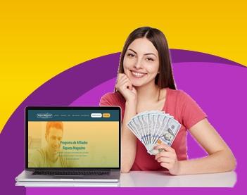 Ganhar dinheiro com programa de afiliados Riqueza Magazine